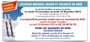 SLAT - Location materiel 19-20