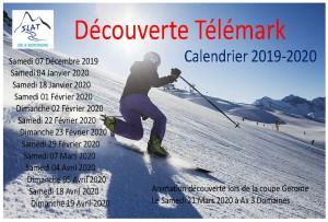Calendrier Telemark 2019-2020